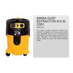 MIRKA DUST EXTRACTOR 915 M 230V SENZA TUBO